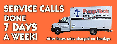 Mobile Plumbing Service 7 days a week!
